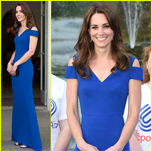 Kate Middleton Stuns in Roland Mouret for SportsAid Gala