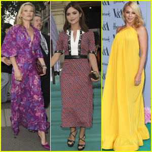 Kate Moss & Jenna Coleman Step Out for V&A Summer Party