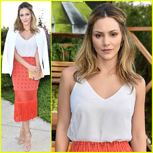 Katharine McPhee Has a Girls' Night Out at Just Jared & Vintage Grocers' Malibu Dinner