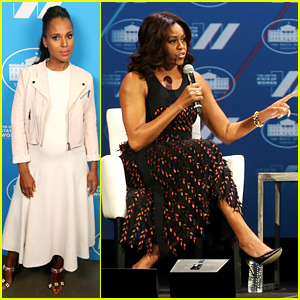 Kerry Washington Joins Michelle Obama at United State Of Women Summit