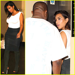 Kim Kardashian & Kanye West Party with the Family at Khloe's Birthday Party!