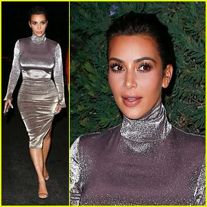 Kim Kardashian Surprises Fans at Movie Theater