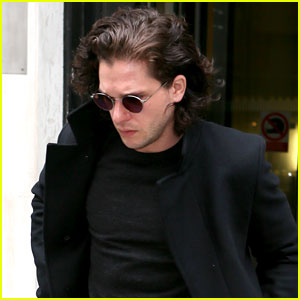 Kit Harington Steps Out with His Newly Shaved Face