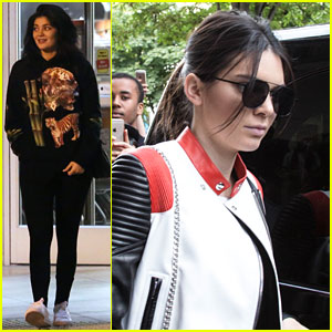 Kylie Jenner Steps Out After Reuniting with Tyga Over the Weekend