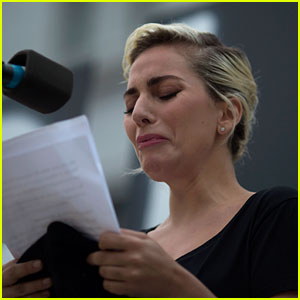 Lady Gaga Breaks Down While Reading Victims Names at Vigil for Orlando