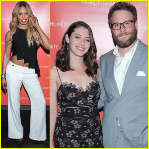 Laverne Cox Steps Out for Seth Rogen's Hilarity for Charity Event