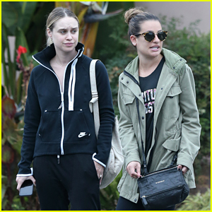 Lea Michele & Becca Tobin Keep it Casual for Girls' Day Out