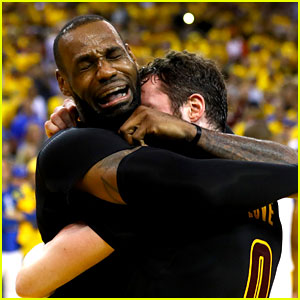LeBron James Cries & Gets Emotional After NBA Finals Win (Video)