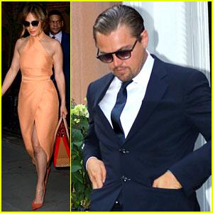 Leonardo DiCaprio & Jennifer Lopez Attend Hillary Clinton Fundraiser in NYC!