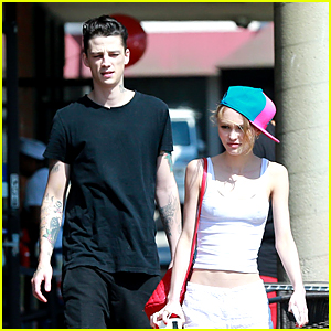 Lily-Rose Depp Hangs With Rumored Boyfriend Ash Stymest