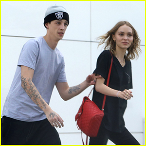 Lily-Rose Depp Makes Shopping Stop With Ash Stymest