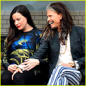 Liv Tyler Gets in Father-Daughter Bonding with Dad Steven Tyler