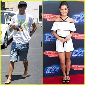 Louis Tomlinson Goes Barefoot at Starbucks, Danielle Campbell Supports 100th DCOM!