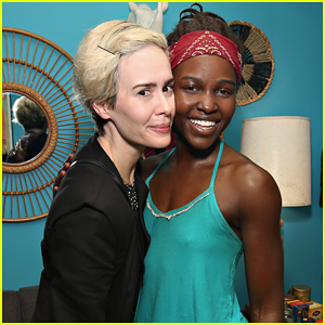 Lupita Nyong'o Gets Surprise Visit From Sarah Paulson At 'Eclipsed', Announces West Coast Premiere!