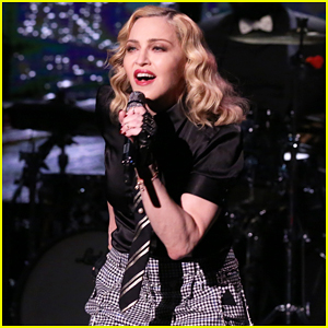 Madonna Performs 'Borderline' On 'The Tonight Show'! (Video)