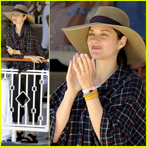 Marion Cotillard Attends Longines Athina Onassis Horse Show