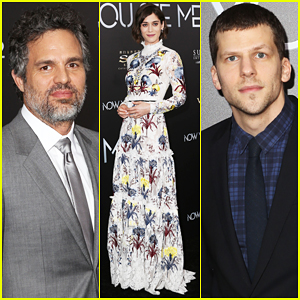 Mark Ruffalo & Lizzy Caplan Bring 'Now You See Me 2' To NYC!
