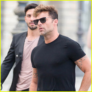 Ricky Martin Steps Out With Boyfriend Jwan Yosef After Calling Balmain 'The Future' of Fashion