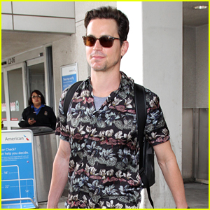 Matt Bomer Recalls Being Wrapped Up in a Tarp With Lady Gaga