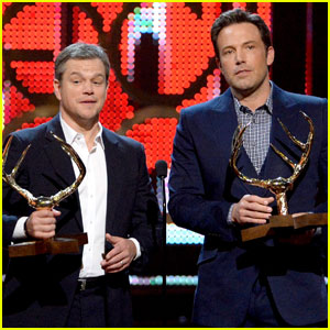 Ben Affleck & Matt Damon Are the 'Guys of the Decade' at Spike TV's Guys' Choice Awards 2016