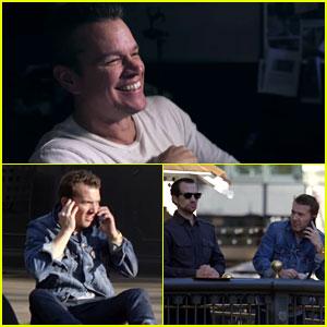 Matt Damon Channels Jason Bourne, Pranks Unsuspecting People - Watch Now!