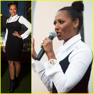 Mel B Surprises Fans at 'Spice World' Screening!