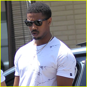 Michael B. Jordan Steps Out for Lunch After Teen Choice Award Nomination