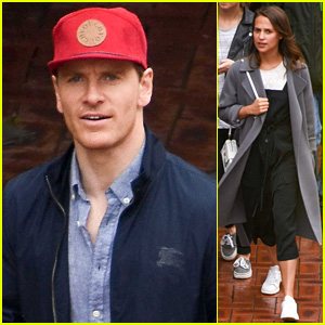 Michael Fassbender & Alicia Vikander Make Rare Appearance Out Together