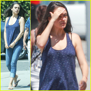 Mila Kunis Spotted For First Time After Pregnancy News