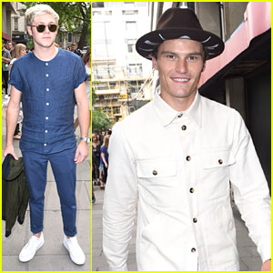 Niall Horan Steps Out at Oliver Spencer Show During London Collections Men 2016