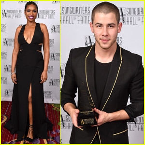Nick Jonas Gets Honored at Songwriters Hall of Fame Gala