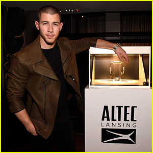Nick Jonas Launches Altec Lansing Electronics Collaboration