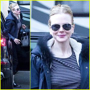 Nicole Kidman Begins Filming Series 'Top of the Lake'