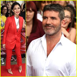 Nicole Scherzinger & Simon Cowell Kick Off 'X Factor' With Fellow Judges