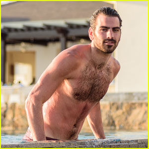 Nyle DiMarco Enjoys Downtime at the Beach in Mexico