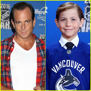 Will Arnett & Jacob Tremblay Attend NHL Awards 2016
