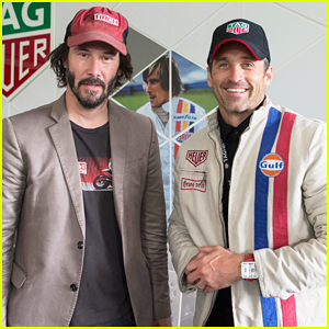 Patrick Dempsey & Keanu Reeves Buddy Up At Goodwood Festival Of Speed!