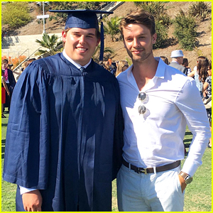 Patrick Schwarzenegger Congratulates Brother Christopher on Graduating