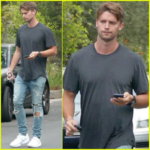 Patrick Schwarzenegger Steps Out After Memorial Day With Abby Champion