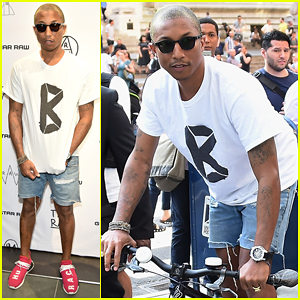 Pharrell Williams Has Awesome Reaction To Student's Music At NYC Masterclass - Watch Below!