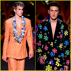Presley Gerber & Anwar Hadid Make Their Runway Debuts!