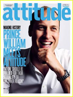 Prince Williams Makes History With 'Attitude' Magazine Cover