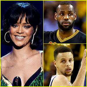 Rihanna Calls LeBron James 'Bae,' Shades Steph Curry