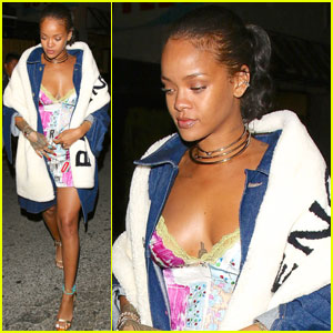 Rihanna & Drake Both Party it Up at The Nice Guy