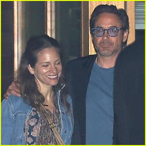 Robert Downey, Jr. & Wife Susan Have a Date Night in Malibu!
