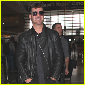 Paula Patton Says Son Has Robin Thicke's Love for Music