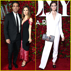 Rose Byrne & Bobby Cannavale Step Out for Tony Awards 2016