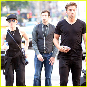 Scarlett Johansson Spends Quality Time with Twin Brother Hunter