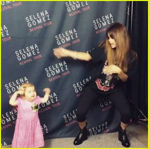 Selena Gomez Dances With Cute Girl Battling Rare Disorder