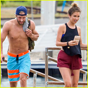 The Bachelorette's Shawn Booth Goes Shirtless in Hawaii with Fiancee Kaitlyn Bristowe
